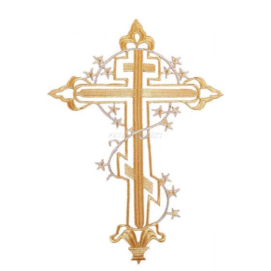 Термоаппликация Крест-26
