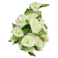 Букет роз с колосом